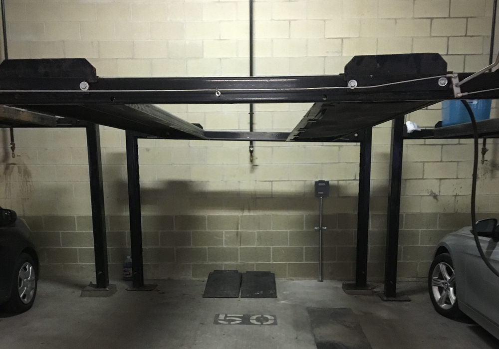 Tesla garage 2